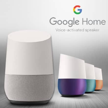 Qoo10's Best of 2017 – Google Home