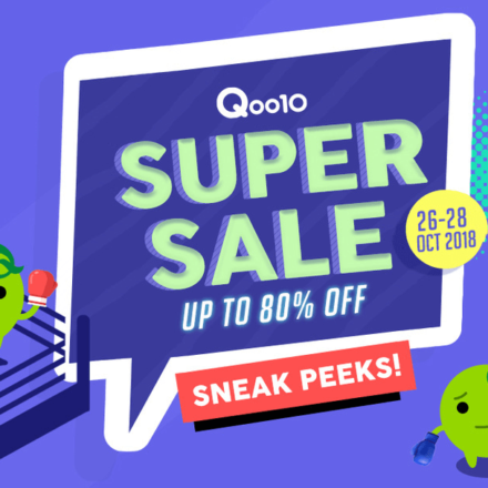 Qoo10's October bestsellers, back with even better prices!