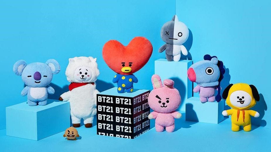 The most requested characters in our BT21 giveaway!