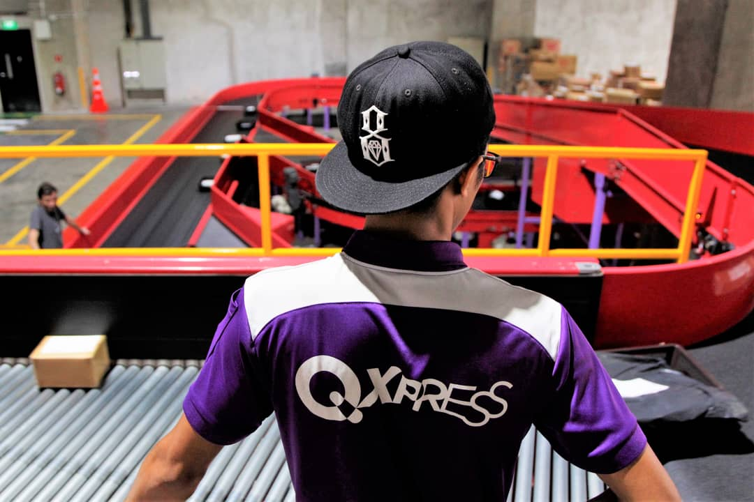 How Qxpress sorts your parcels – 4,000 an hour