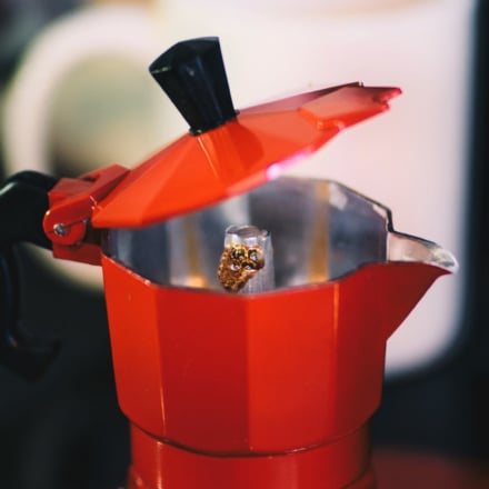 Crank your cuppa to 11 with the moka coffee pot